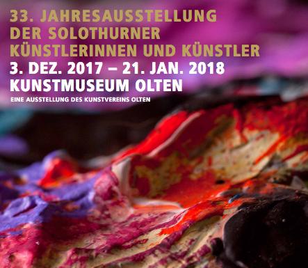 33. Jahresausstellung der Solothurner Künstlerinnen und Künstler